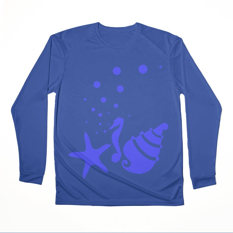 Underwater world Women's Performance Unisex Longsleeve T-Shirt by cindyshim's Artist Shop