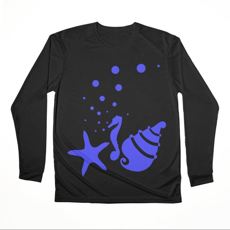Underwater world Men's Performance Longsleeve T-Shirt by cindyshim's Artist Shop