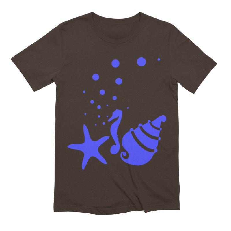 Underwater world Men's Extra Soft T-Shirt by cindyshim's Artist Shop