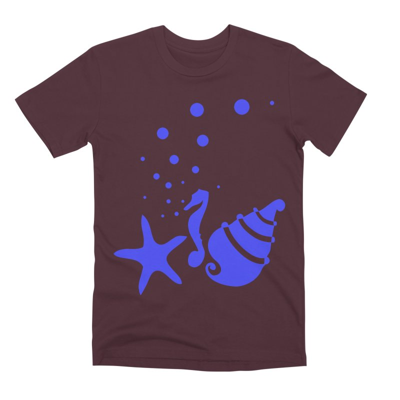 Underwater world Men's Premium T-Shirt by cindyshim's Artist Shop