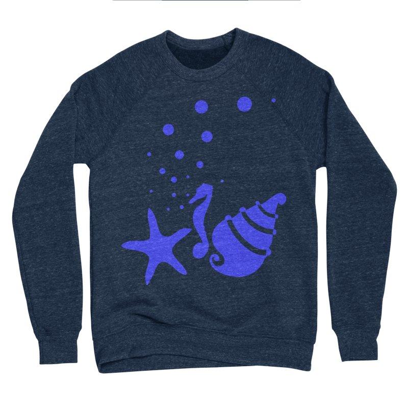 Underwater world Men's Sponge Fleece Sweatshirt by cindyshim's Artist Shop