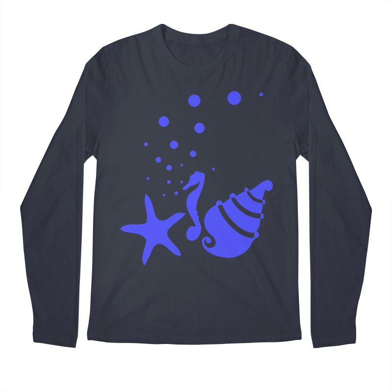 Underwater world Men's Regular Longsleeve T-Shirt by cindyshim's Artist Shop
