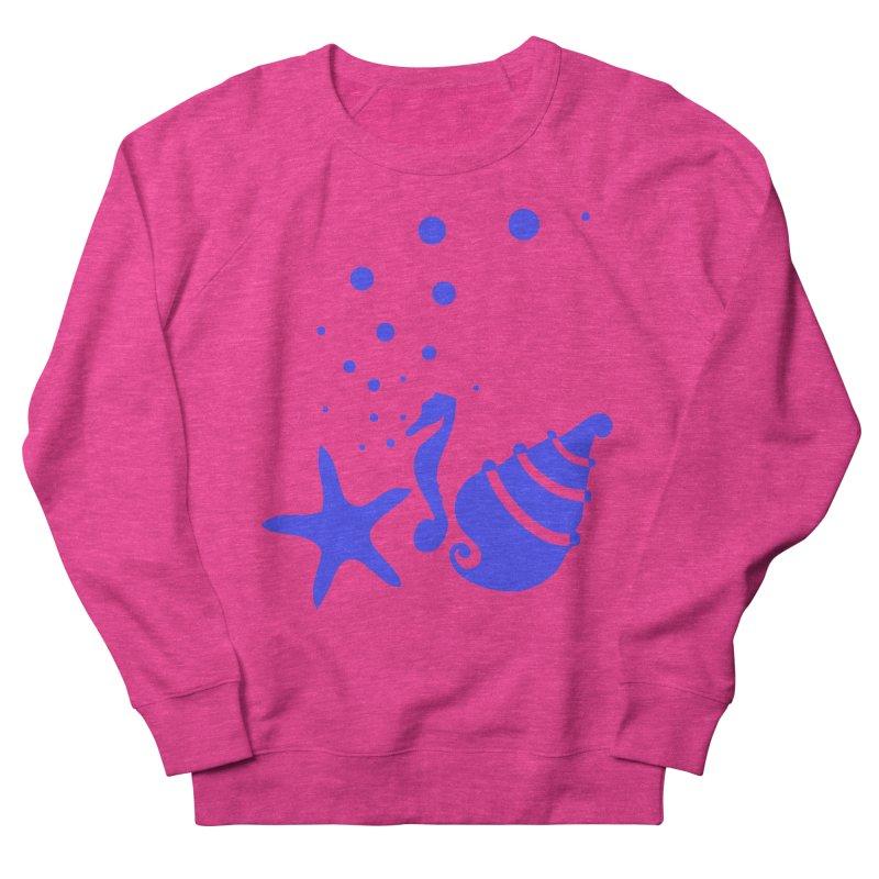 Underwater world Women's French Terry Sweatshirt by cindyshim's Artist Shop