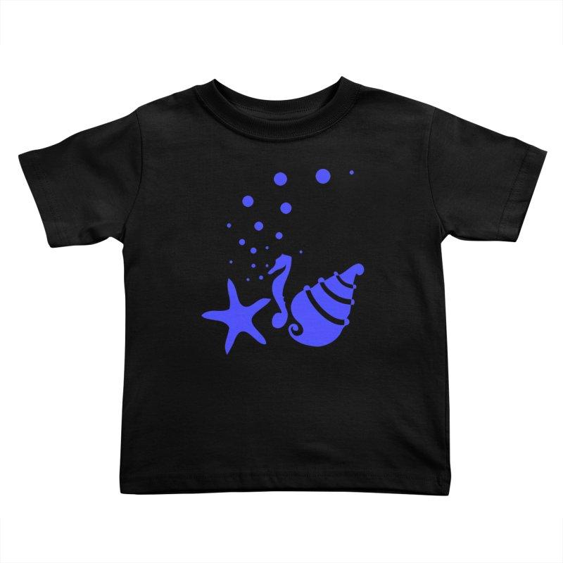 Underwater world Kids Toddler T-Shirt by cindyshim's Artist Shop
