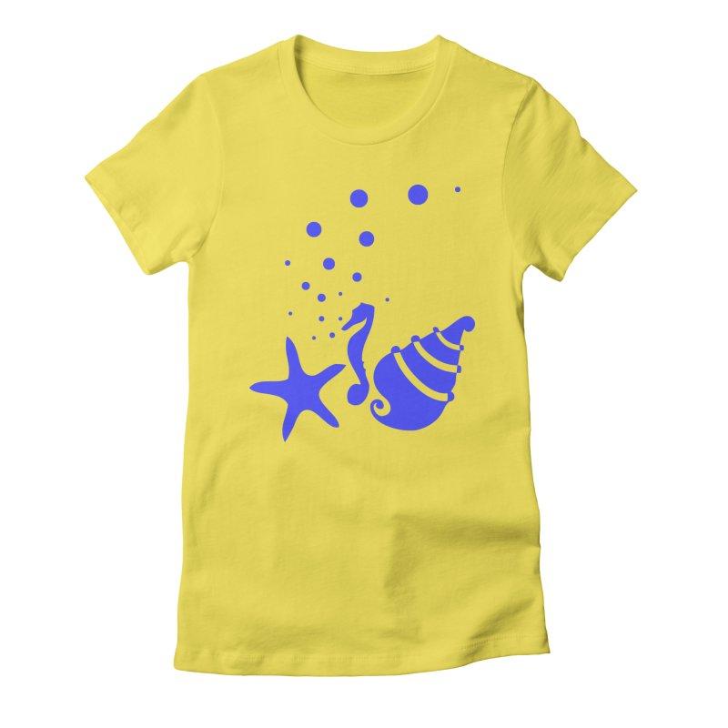 Underwater world Women's T-Shirt by cindyshim's Artist Shop