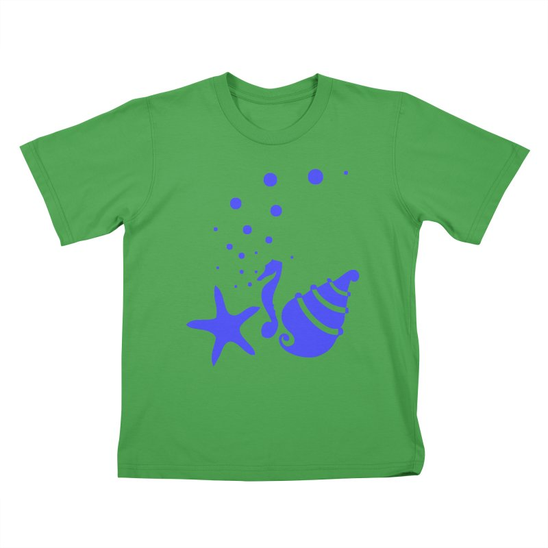 Underwater world Kids T-Shirt by cindyshim's Artist Shop