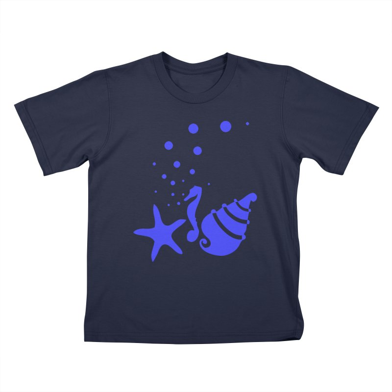 Underwater world Kids T-Shirt by cindyshim's Artist Shop