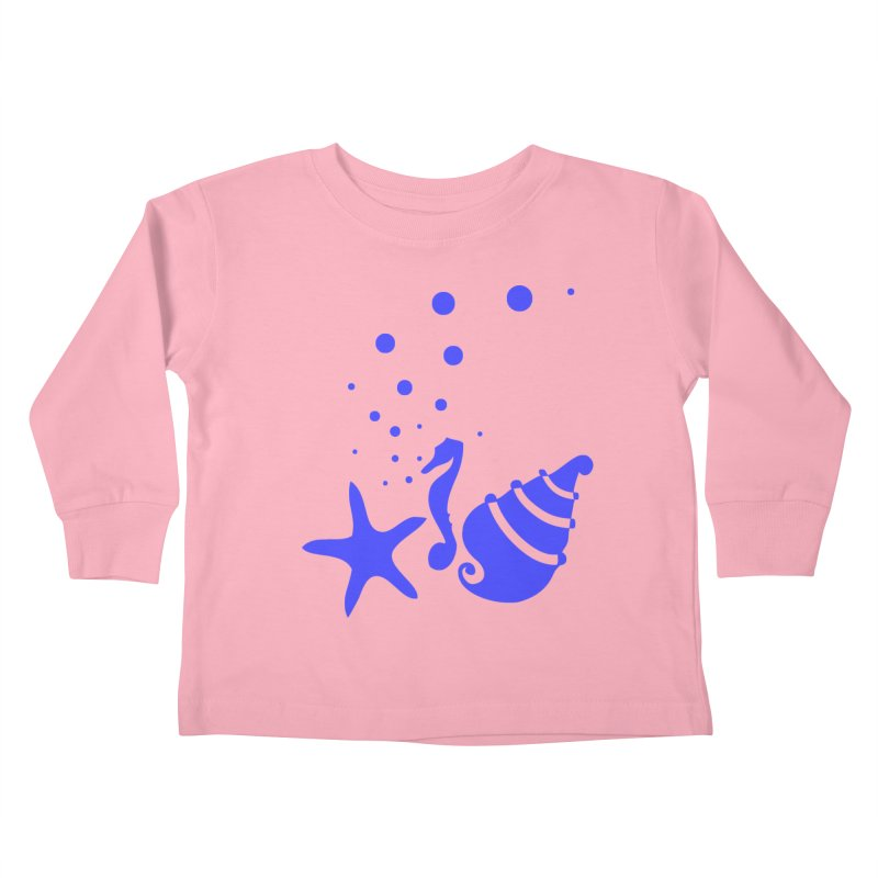 Underwater world Kids Toddler Longsleeve T-Shirt by cindyshim's Artist Shop