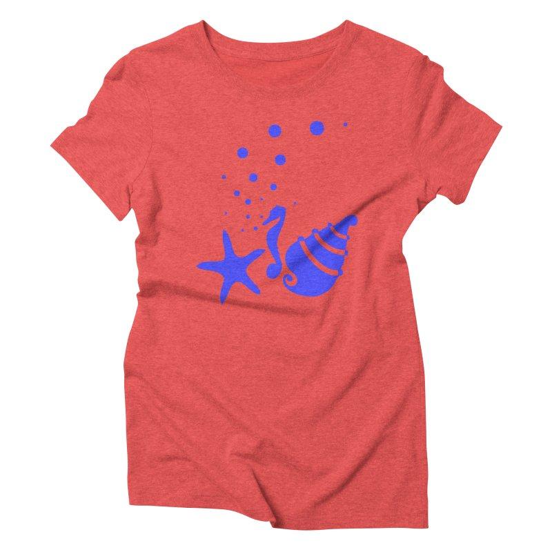 Underwater world Women's Triblend T-Shirt by cindyshim's Artist Shop