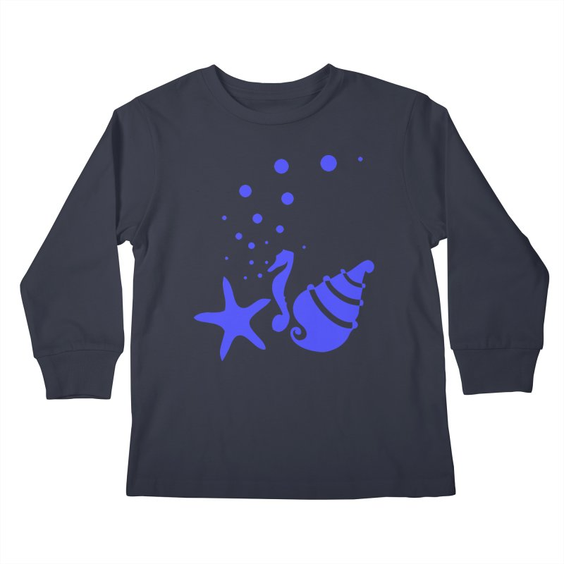 Underwater world Kids Longsleeve T-Shirt by cindyshim's Artist Shop