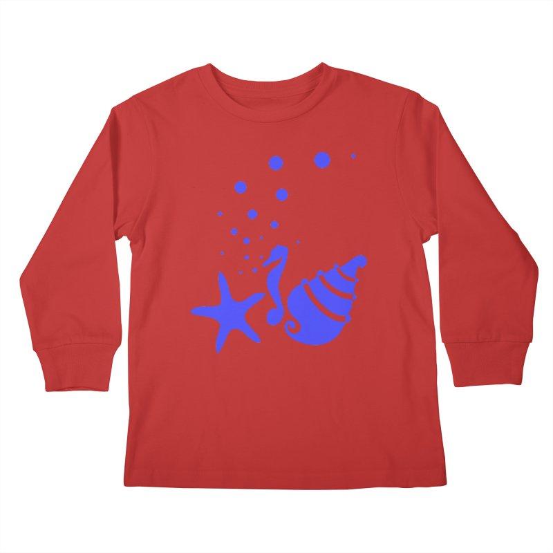 Underwater world Kids Longsleeve T-Shirt by cindyshim's Artist Shop