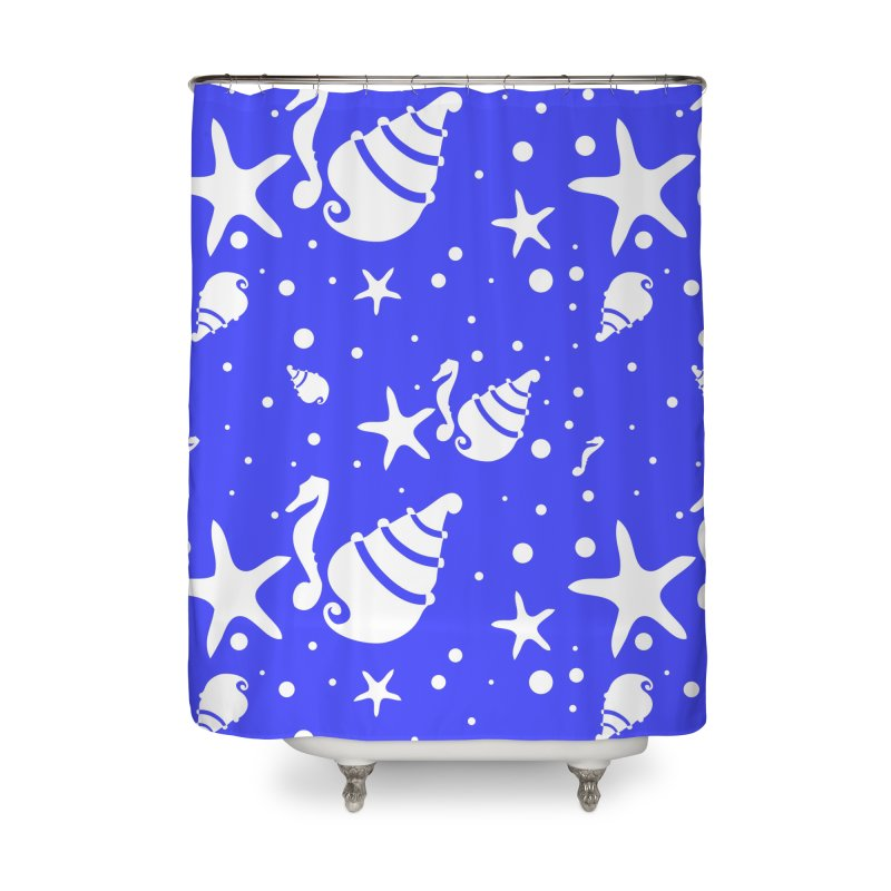 Underwater world Home Shower Curtain by cindyshim's Artist Shop