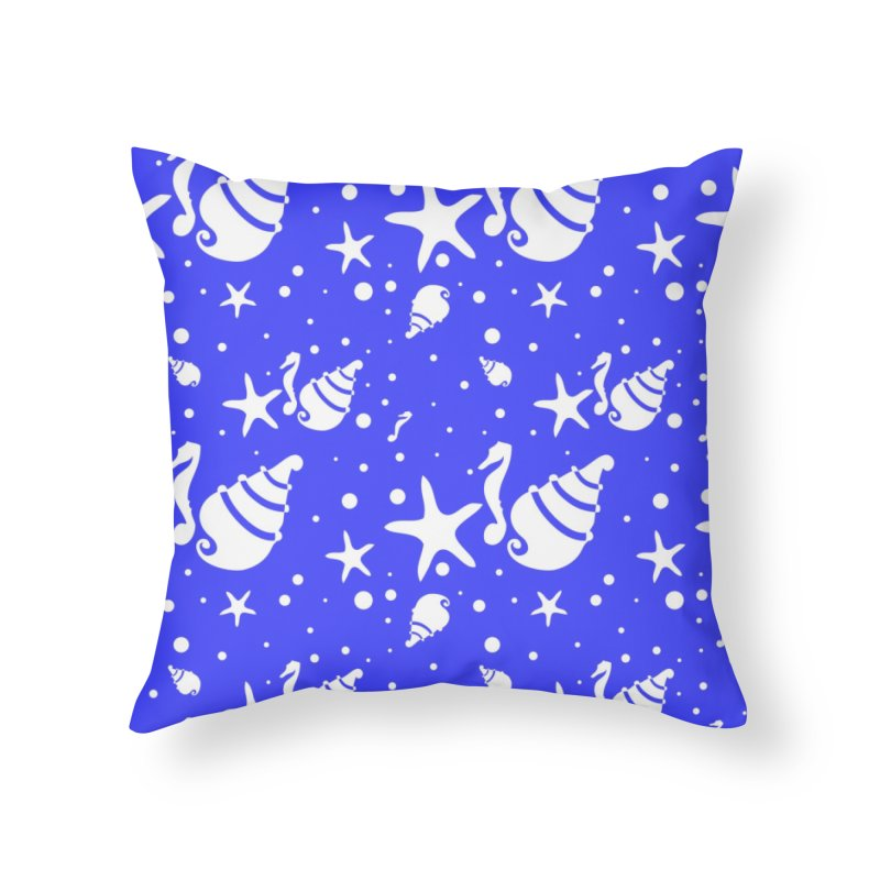 Underwater world Home Throw Pillow by cindyshim's Artist Shop