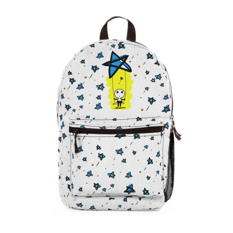 starry night dreamer boy Accessories Bag by cindyshim's Artist Shop