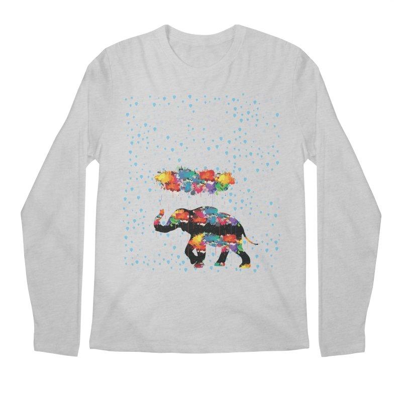 I love rain Men's Regular Longsleeve T-Shirt by cindyshim's Artist Shop