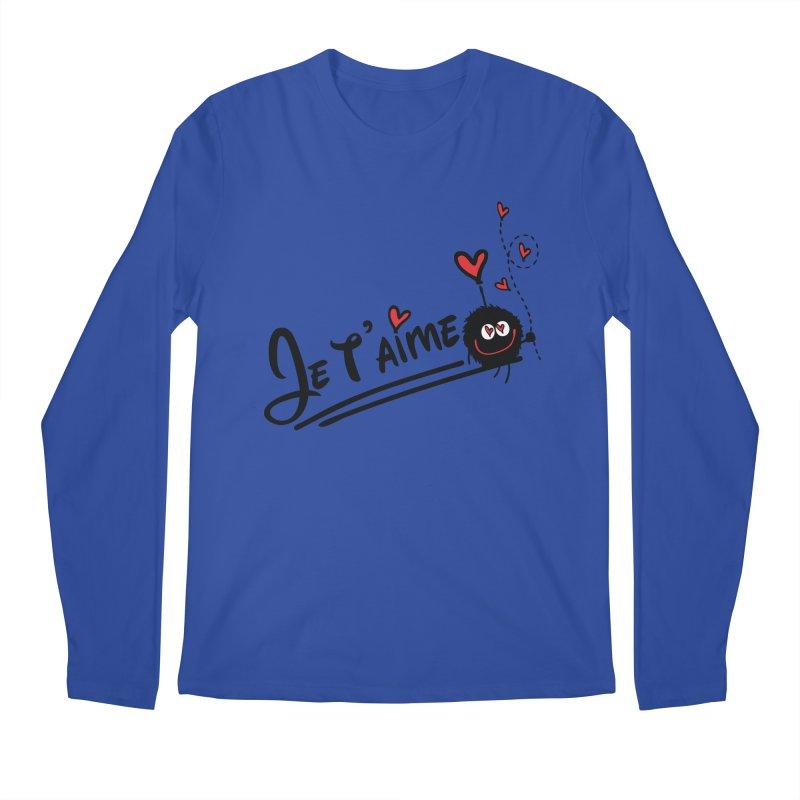 Je t'aime Men's Regular Longsleeve T-Shirt by cindyshim's Artist Shop