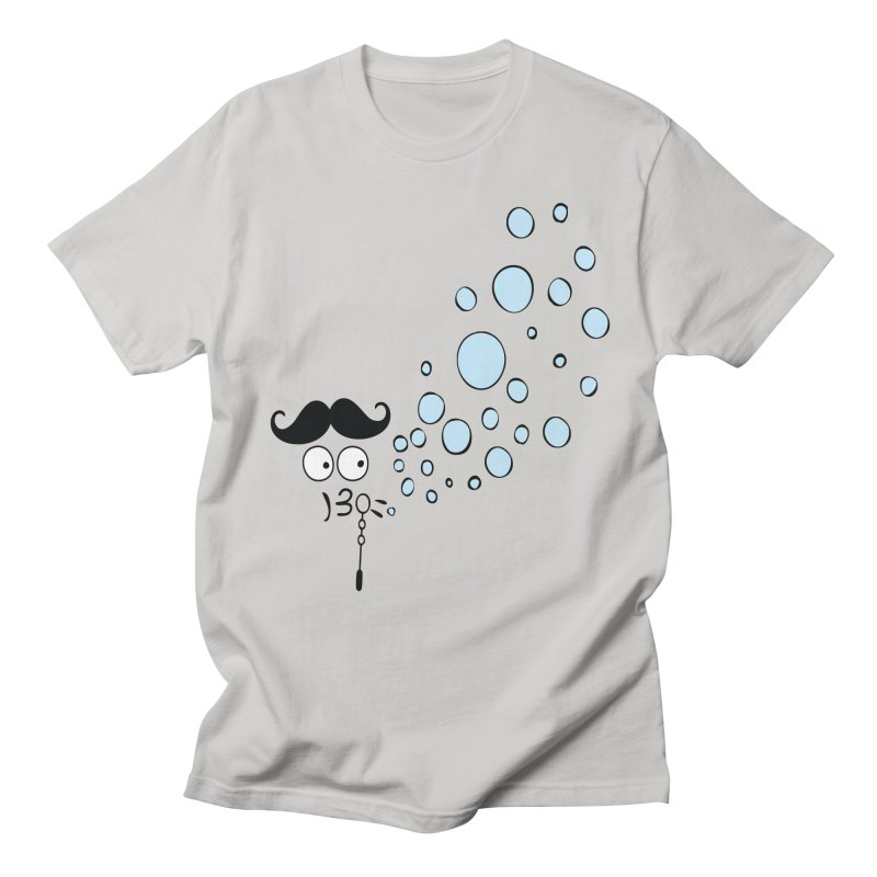 Blowing bubbles Men's Regular T-Shirt by cindyshim's Artist Shop