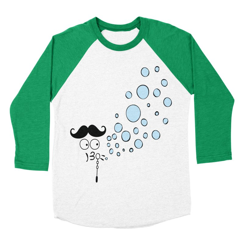 Blowing bubbles Women's Baseball Triblend Longsleeve T-Shirt by cindyshim's Artist Shop