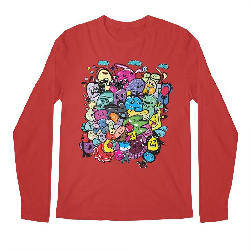 Monster firneds Men's Regular Longsleeve T-Shirt by cindyshim's Artist Shop