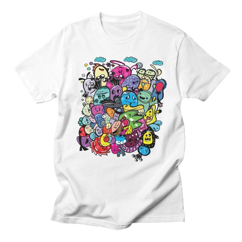 Monster firneds Women's Regular Unisex T-Shirt by cindyshim's Artist Shop