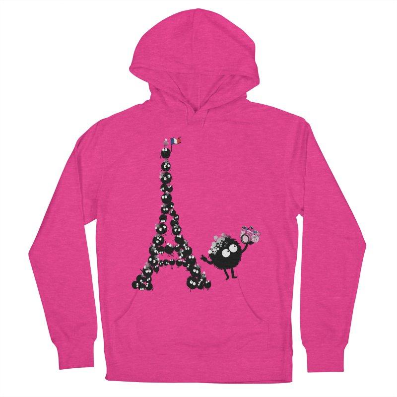 Selfie from Paris Women's Pullover Hoody by cindyshim's Artist Shop