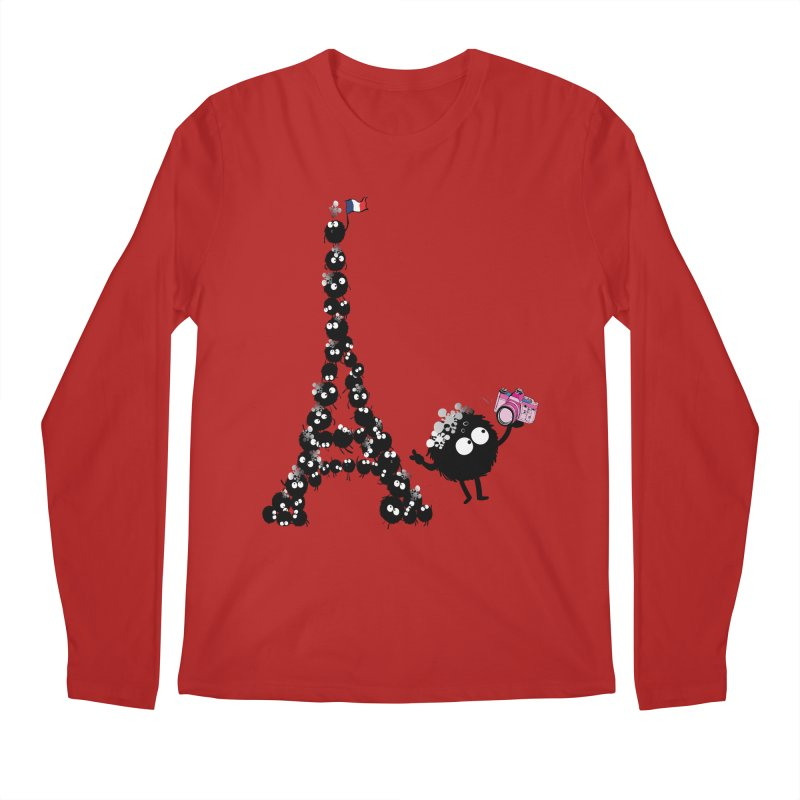 Selfie from Paris Men's Longsleeve T-Shirt by cindyshim's Artist Shop