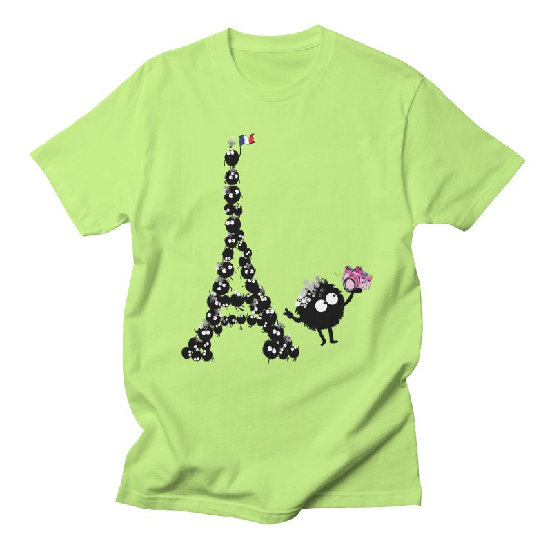 Selfie from Paris Men's Regular T-Shirt by cindyshim's Artist Shop