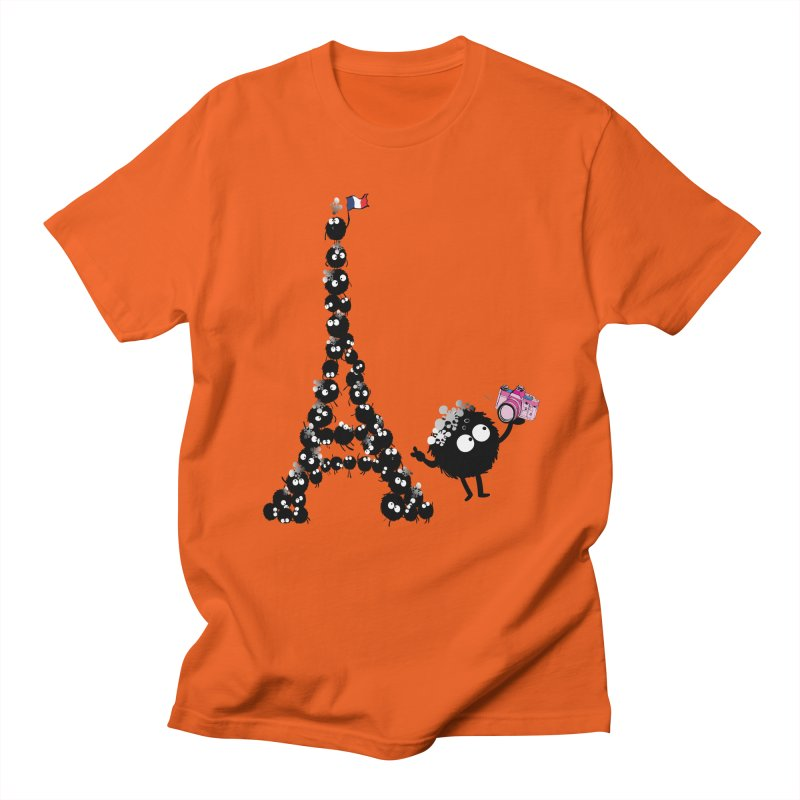 Selfie from Paris Men's T-shirt by cindyshim's Artist Shop