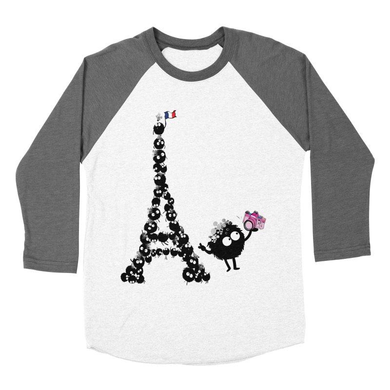 Selfie from Paris Women's Baseball Triblend T-Shirt by cindyshim's Artist Shop