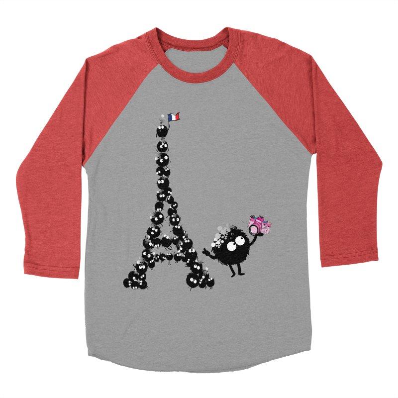 Selfie from Paris Men's Baseball Triblend T-Shirt by cindyshim's Artist Shop