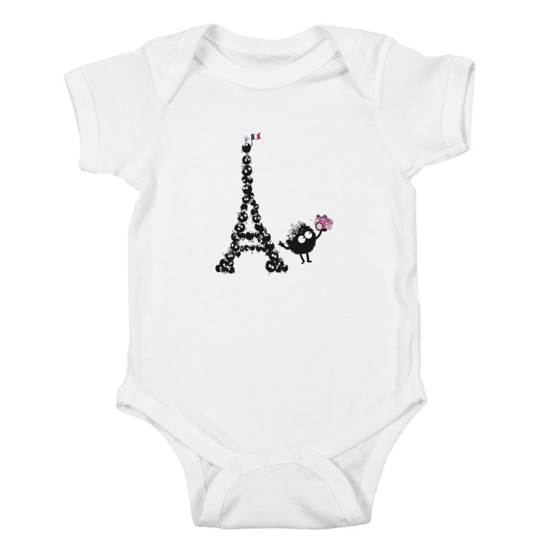 Selfie from Paris Kids Baby Bodysuit by cindyshim's Artist Shop