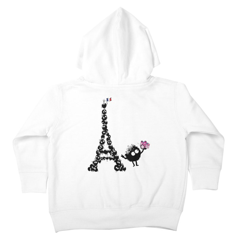 Selfie from Paris Kids Toddler Zip-Up Hoody by cindyshim's Artist Shop