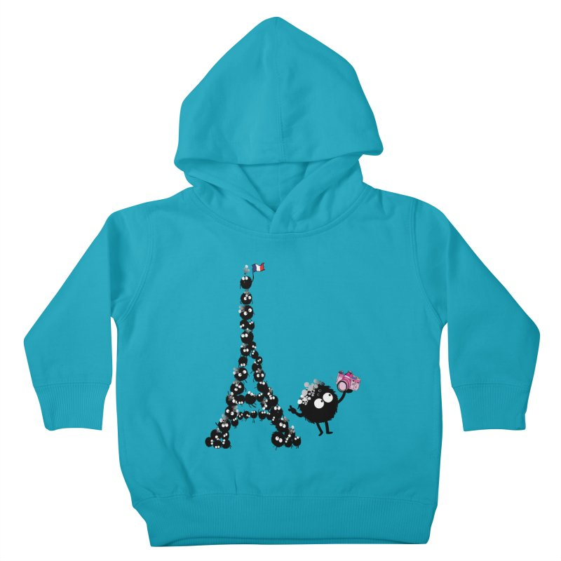 Selfie from Paris Kids Toddler Pullover Hoody by cindyshim's Artist Shop