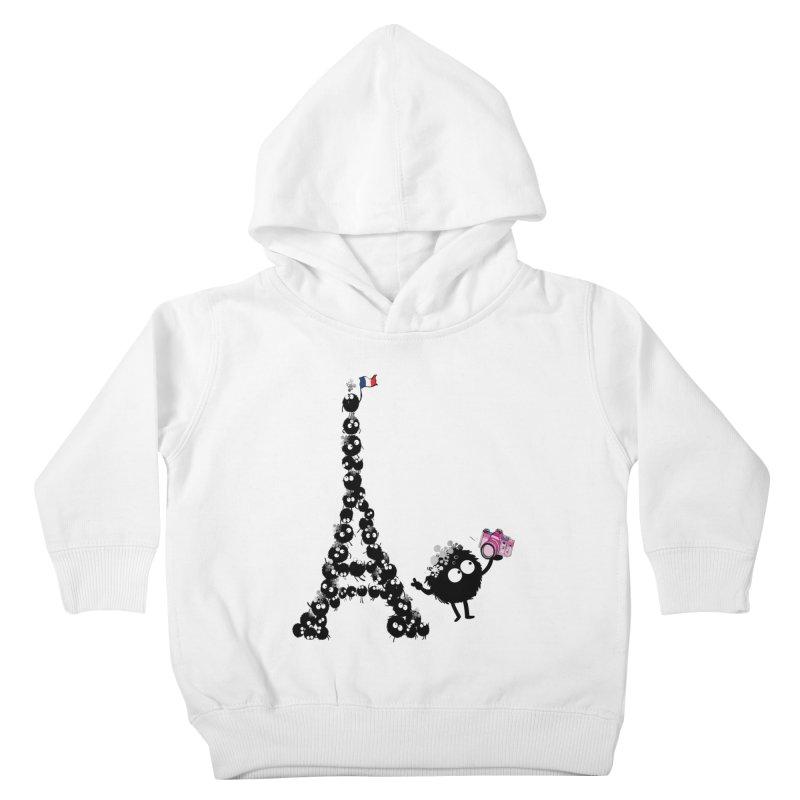 Selfie from Paris Kids Toddler Pullover Hoody by cindyshim's Artist Shop