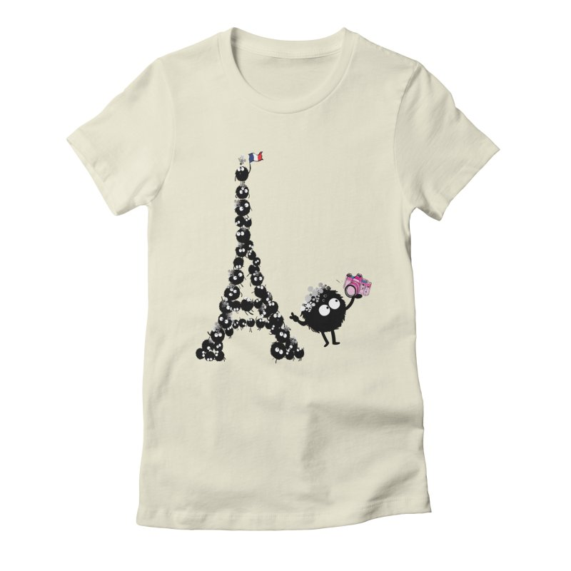 Selfie from Paris Women's Fitted T-Shirt by cindyshim's Artist Shop