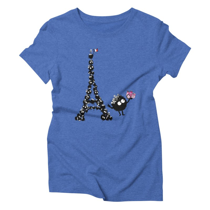 Selfie from Paris Women's Triblend T-shirt by cindyshim's Artist Shop