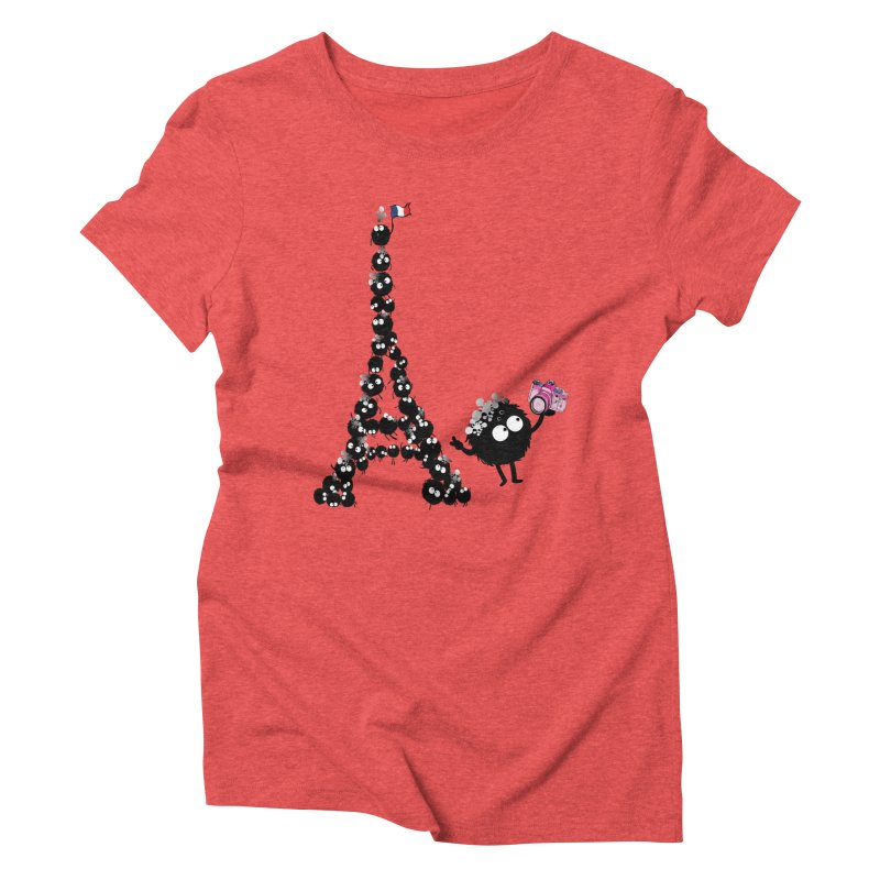 Selfie from Paris Women's Triblend T-shirt by cindyshim's Artist Shop