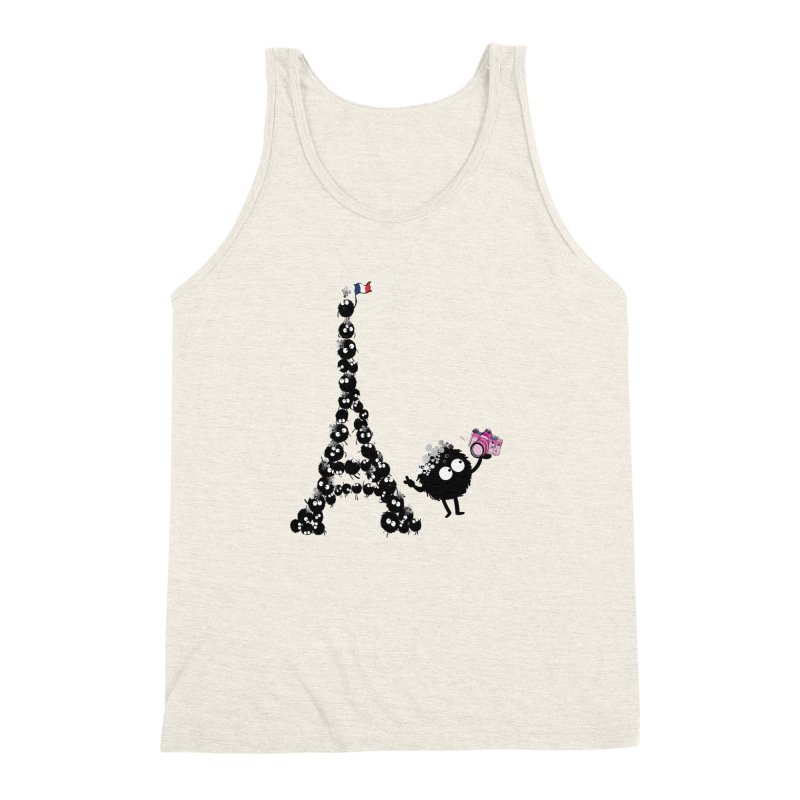 Selfie from Paris Men's Triblend Tank by cindyshim's Artist Shop