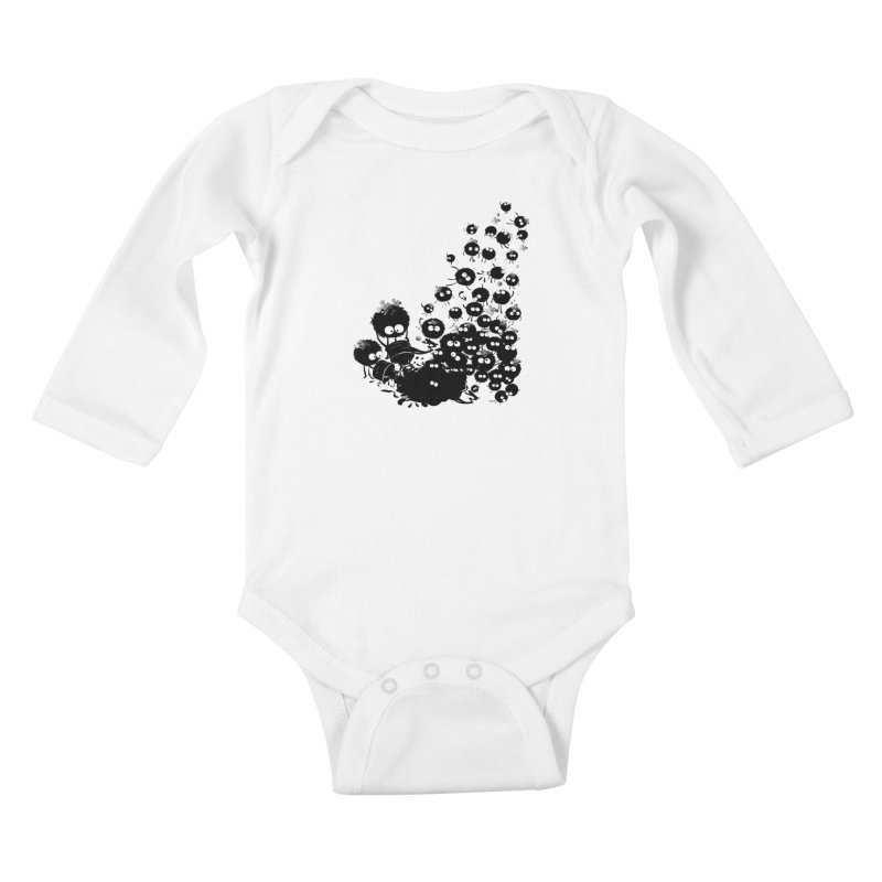 Big family Kids Baby Longsleeve Bodysuit by cindyshim's Artist Shop