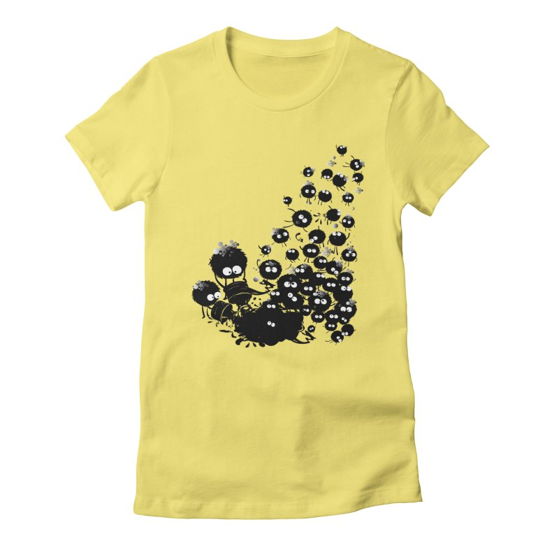 Big family Women's Fitted T-Shirt by cindyshim's Artist Shop
