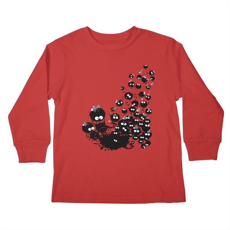 Big family Kids Longsleeve T-Shirt by cindyshim's Artist Shop