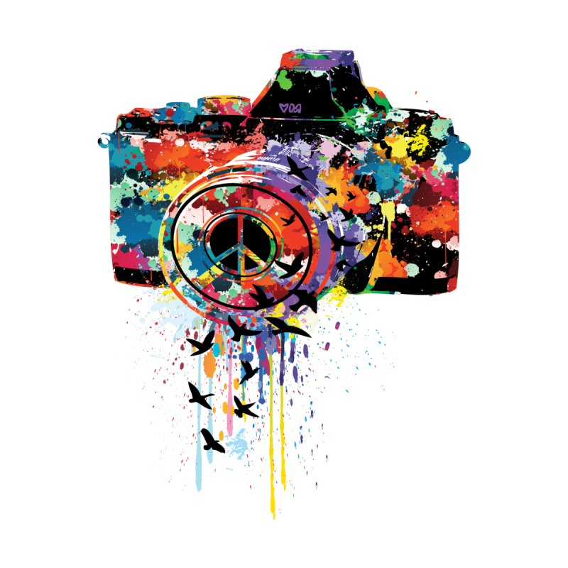 colorful DSLR by cindyshim's Artist Shop