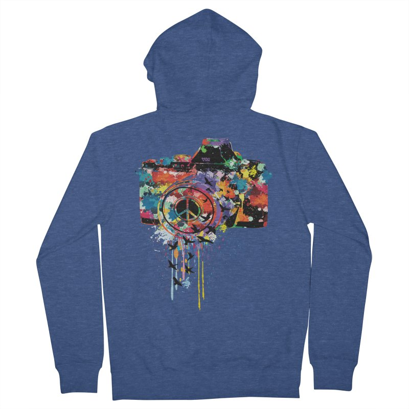 colorful DSLR Women's Zip-Up Hoody by cindyshim's Artist Shop