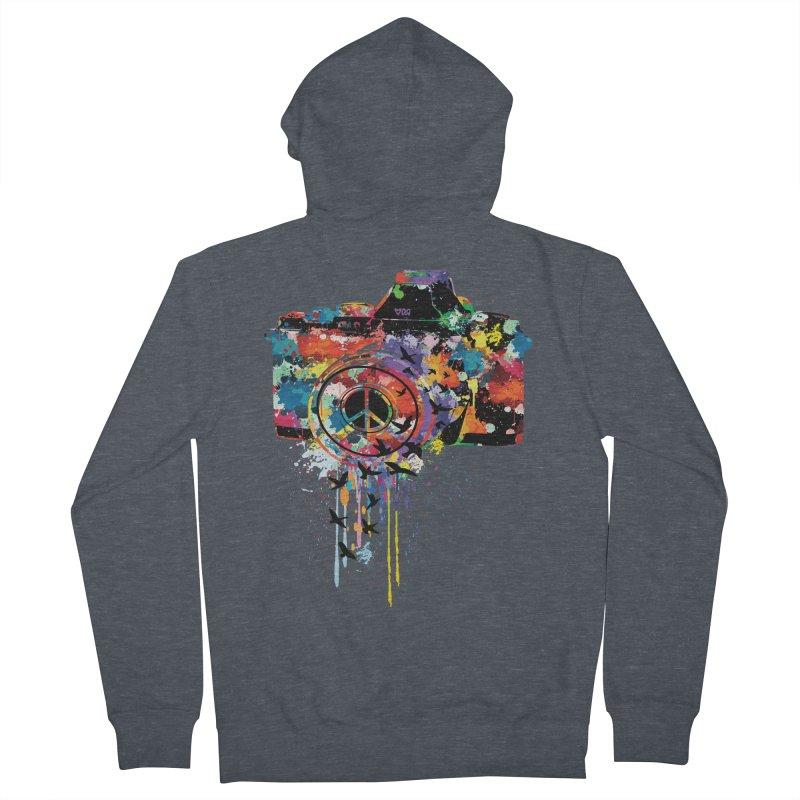 colorful DSLR Men's Zip-Up Hoody by cindyshim's Artist Shop