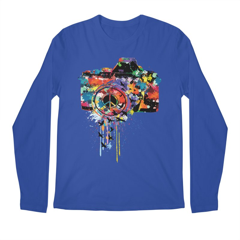 colorful DSLR Men's Regular Longsleeve T-Shirt by cindyshim's Artist Shop