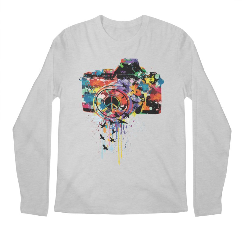 colorful DSLR Men's Longsleeve T-Shirt by cindyshim's Artist Shop