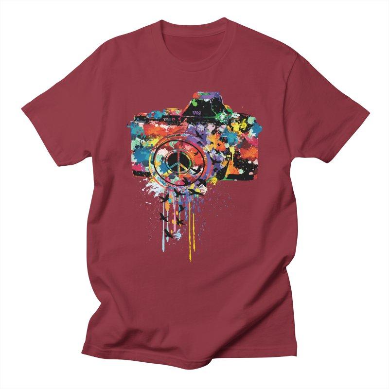 colorful DSLR Women's Regular Unisex T-Shirt by cindyshim's Artist Shop