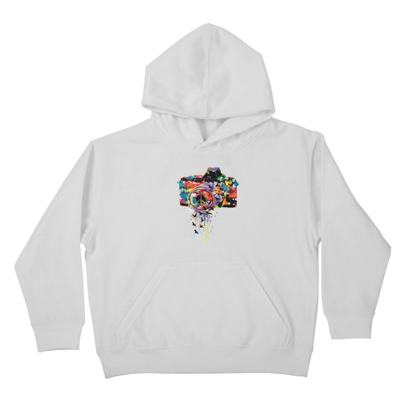 colorful DSLR Kids Pullover Hoody by cindyshim's Artist Shop