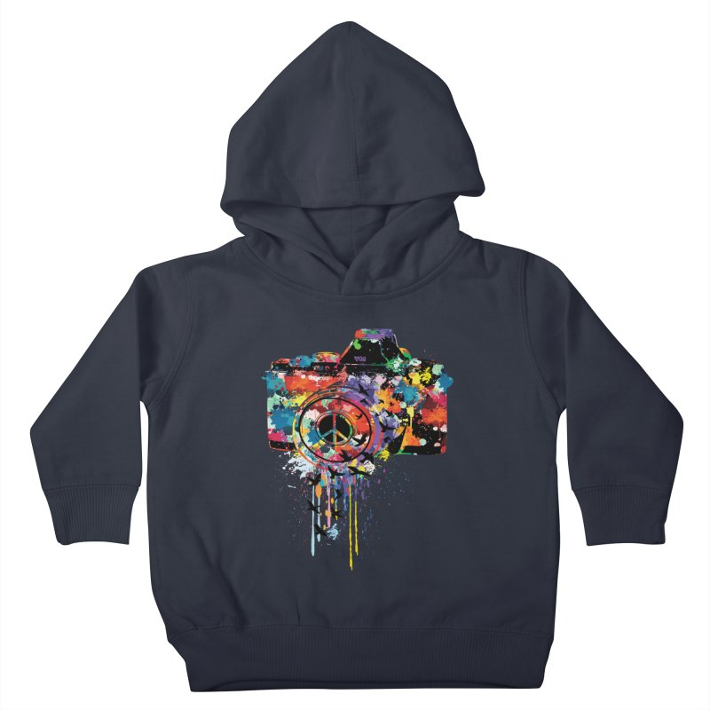 colorful DSLR Kids Toddler Pullover Hoody by cindyshim's Artist Shop