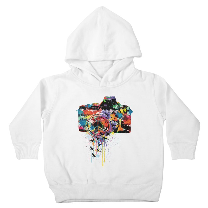 colorful DSLR Kids Toddler Pullover Hoody by cindyshim's Artist Shop